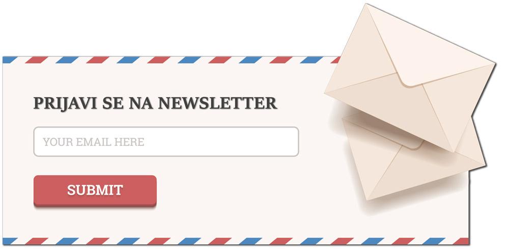 Newsletter prijeva