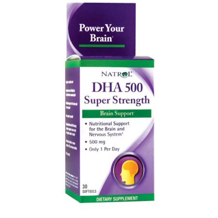 Natrol DHA 500 omega-3