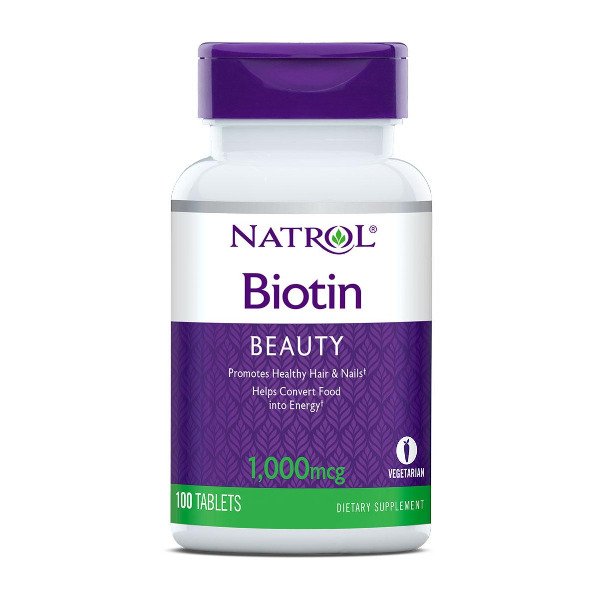 Natrol Biotin 1000mcg tablete