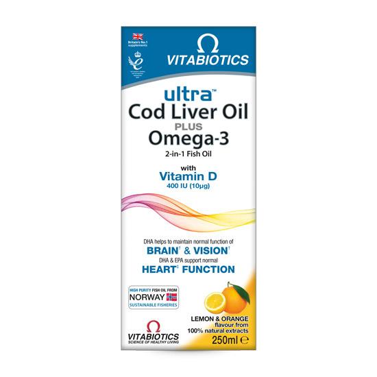 Ulje jetre bakalara i omega-3