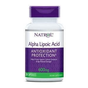Natrol Alfa Lipoicna kiselina 600mg