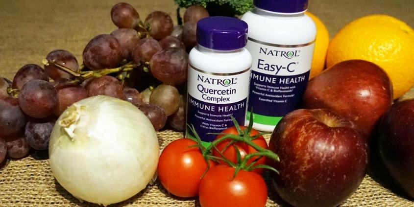 Kvercetin i vitamin C
