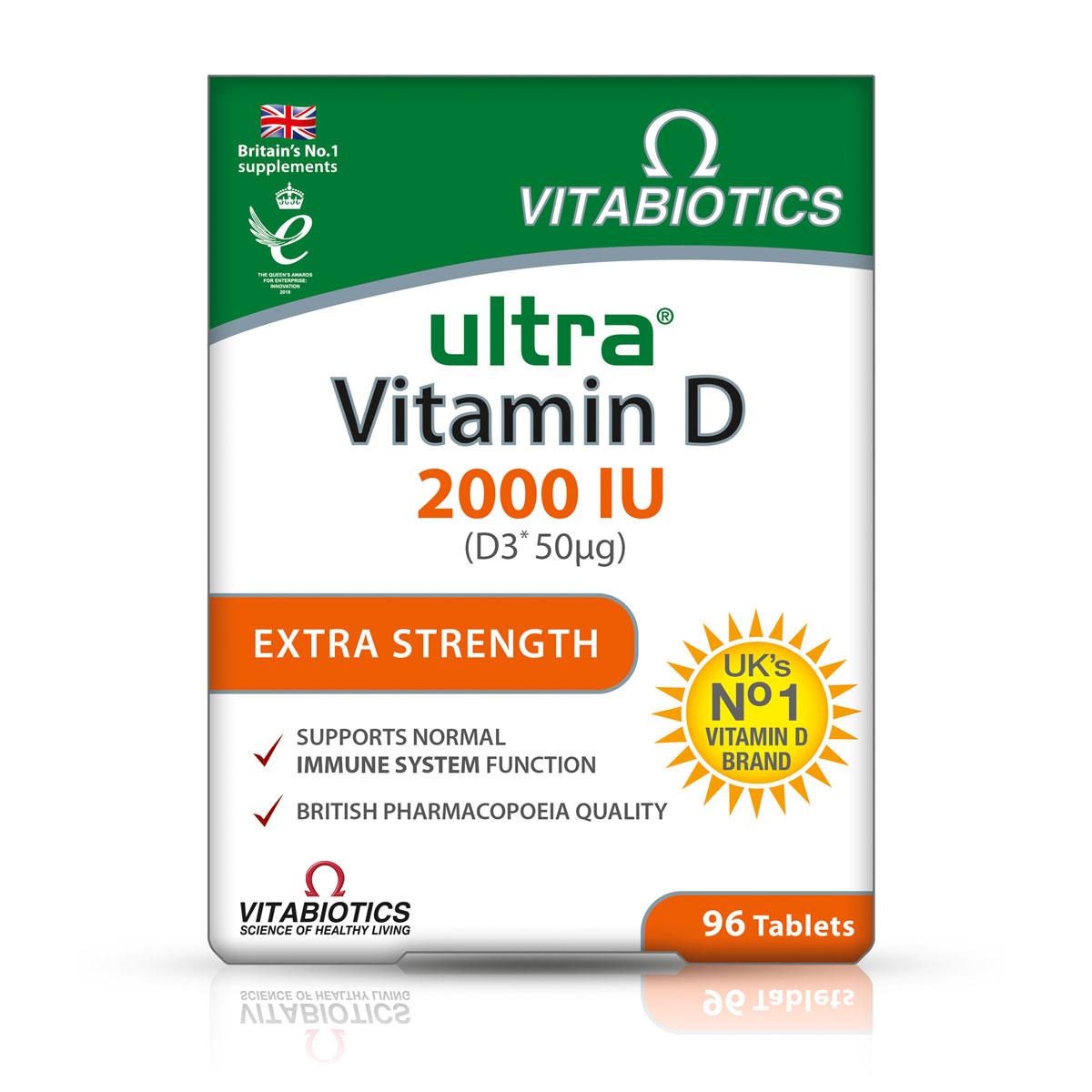 Ultra vitamin D3 2000 IU